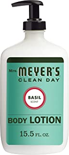 Mrs. Meyer's Clean Day Body Lotion, Basil Scent, 15.5 ounce bottle