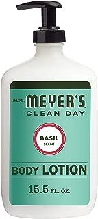Mrs. Meyer's Clean Day Basil Body Lotion, 15.5 Fluid Ounce
