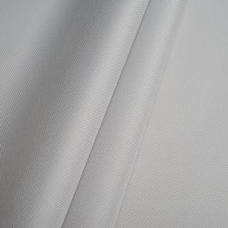Erstklassiger Polyester Oxford 250D 1lfm - Wasserabweisend, Winddicht, Outdoor Stoff, Gartenmöbel Stoff Hellgrau