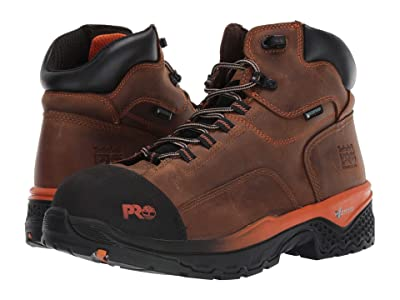 Timberland PRO 6 Bosshog Composite Safety Toe Waterproof (Brown) Men