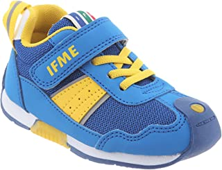 IFME Kid's Racer Lace-Up Casual Sneakers