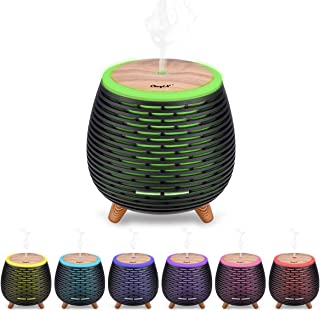 comprar comparacion Ckeyin Humidificador Electrico,Humidificador Aceites Esenciales,Silencio, Lámpara de 7 Colores, 2 Modos de Pulverización, ...