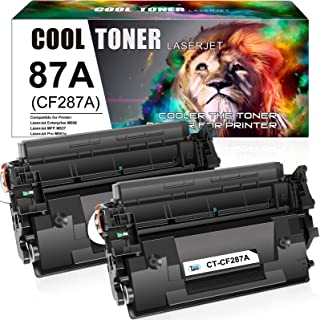 Cool Toner Compatible Toner Cartridge Replacement for HP 87A CF287A 87X CF287X M506 Toner HP Laserjet Enterprise M501dn M5...