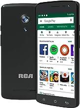 "RCA Q2 Android 9.0 Pie, 5.0"" HD, 4G LTE, 16GB, 8MP 5MP Dual Camera, Dual Sim, Unlocked Smartphone (Black)"