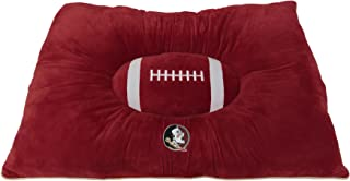 Pets First Collegiate Pet Accessories, Dog Bed, Florida State Seminoles, 30 x 20 x 4 inches