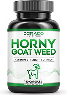 Premium Horny Goat Weed 1000mg [Extra Strength] Herbal Complex Extract for Men and Women – Maca Root & Tribulus - Optimum ...