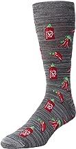 MeMoi Hot Stuff Sriracha Socks | Men's Fun Crazy Novelty Socks
