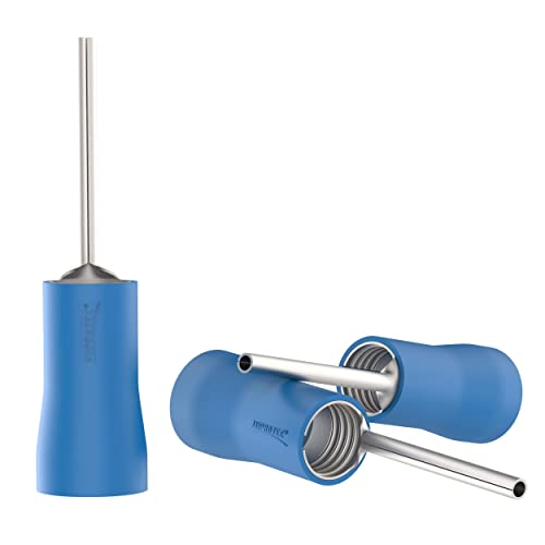 Quetschverbinder Quetschkabelschuhe Stiftform Stiftkabelschuhe 4-6 mm² Gelb NEU