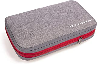 CANWAY旅行便利圧縮バッグ ファスナー圧縮スペース50%節約 収納バッグ 衣類圧縮バッグ 衣類仕分け 簡単圧縮 超大容量 出張 【令和初の新型】