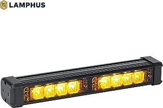 LAMPHUS SolarBlast SBLS24 8W LED Emergency Warning Deck Lightbar - Amber