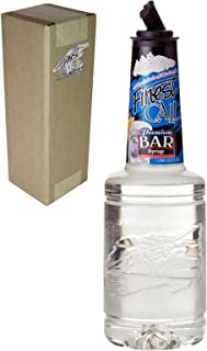 Finest Call Premium Bar/Sugar Syrup Mix, 1 Liter Bottle (33.8 Fl Oz), Individually Boxed