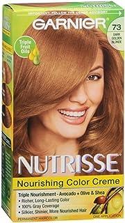 Garnier Nutrisse Haircolor, 73 Dark Golden Blonde 1 ea (Pack of 8)