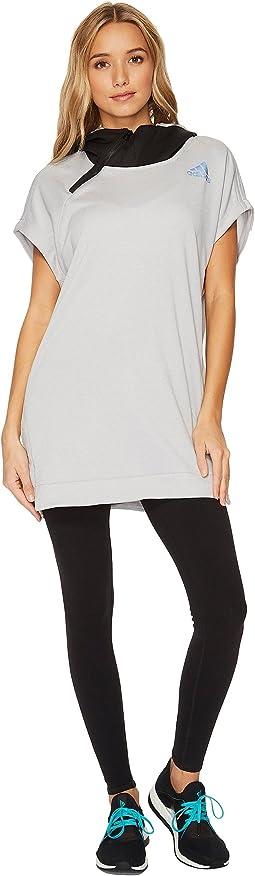 adidas - Shooter Short Sleeve Sweatshirt