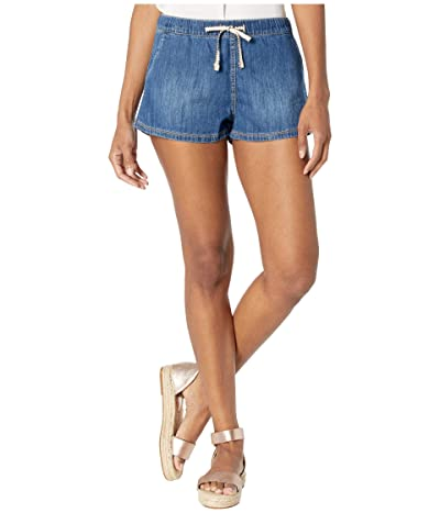 Roxy Go To The Beach Denim Shorts (Medium Blue) Women