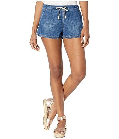 Roxy Go To The Beach Denim Shorts (Medium Blue) Women