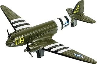 Sky Wings 1:100 Scale Richmond Toys Motormax C-47 Skytrain Die-Cast Plane