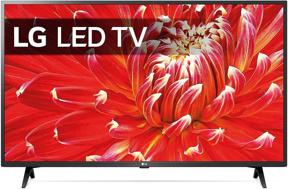 Full hd smart tv lg 32 pollici 32lm6300pla.aeu tv 81,3 cm wi-fi nero [classe di efficienza energetica a]