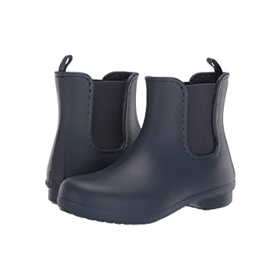 Crocs Freesail Chelsea Boot (Navy/Navy) Women