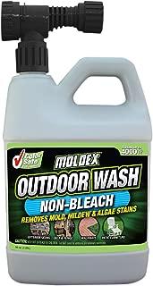 Moldex Mold, Mildew & Algae Stain Remover Non-Bleach Outdoor Wash, 56 oz