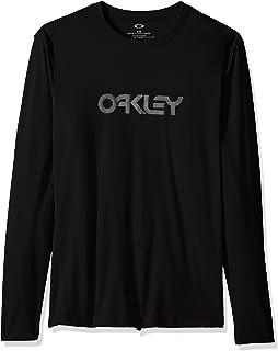 تيشيرت رجالي من Oakley مطبوع عليه Ls Surf
