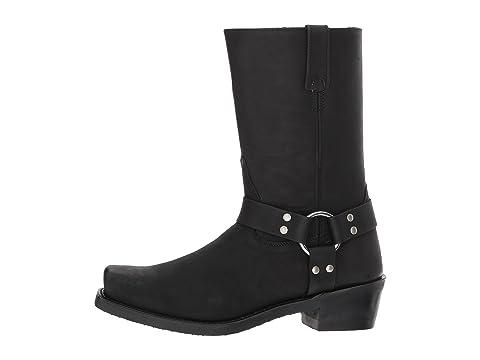 Boots Negro apenado Arnés Botas West Old wBYSHH