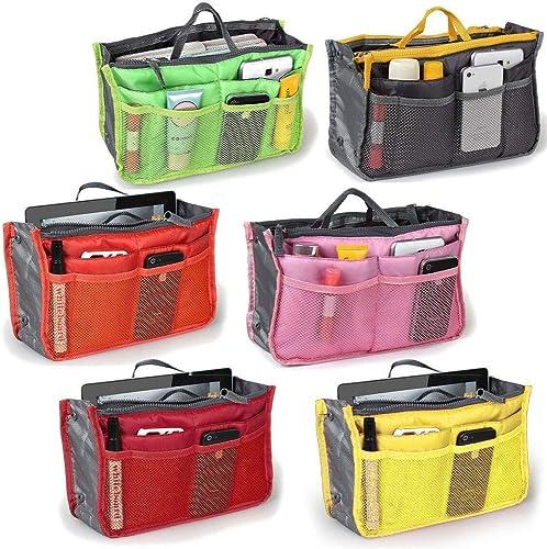 Handbag Organiser Wallet Toiletries Make Up Kit Handbag Pouch Bag In Bag Organiser Insert Organizer Tidy Travel Cosmetic Pocket Bag Pack Of 1