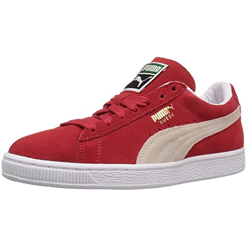 56d55d803afa red Pumas Classic Suede  Amazon.com