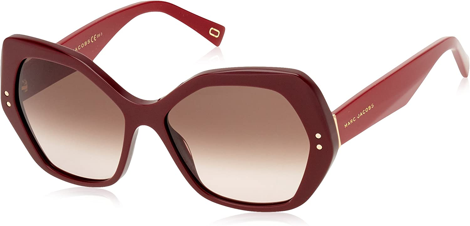 Marc Jacobs Marc117 S OPE Burgundy Marc117 S Butterfly Sunglasses Lens Category