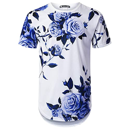 Paisley Colorful Boys and Girls Soft Short Sleeve T-Shirt,Colorful Vintage Flora