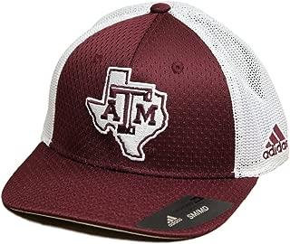 adidas Texas A&M Aggies NCAA Fan Gear Structured Meshback Flex Hat