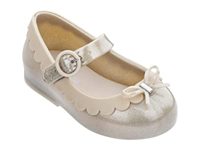 Mini Melissa Sweet Love II BB (Toddler/Little Kid) (Beige Glitter) Girl