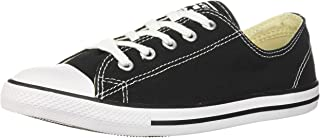 Converse Chuck Taylor All Star Dainty Leather - Black Womens Trainers 4 UK
