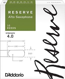 D'Addario DJR1040 Strength 4.0 Reserve Alto Saxophone Reeds (Pack of 10)