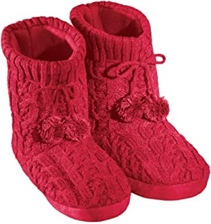 Best red slipper boots Reviews