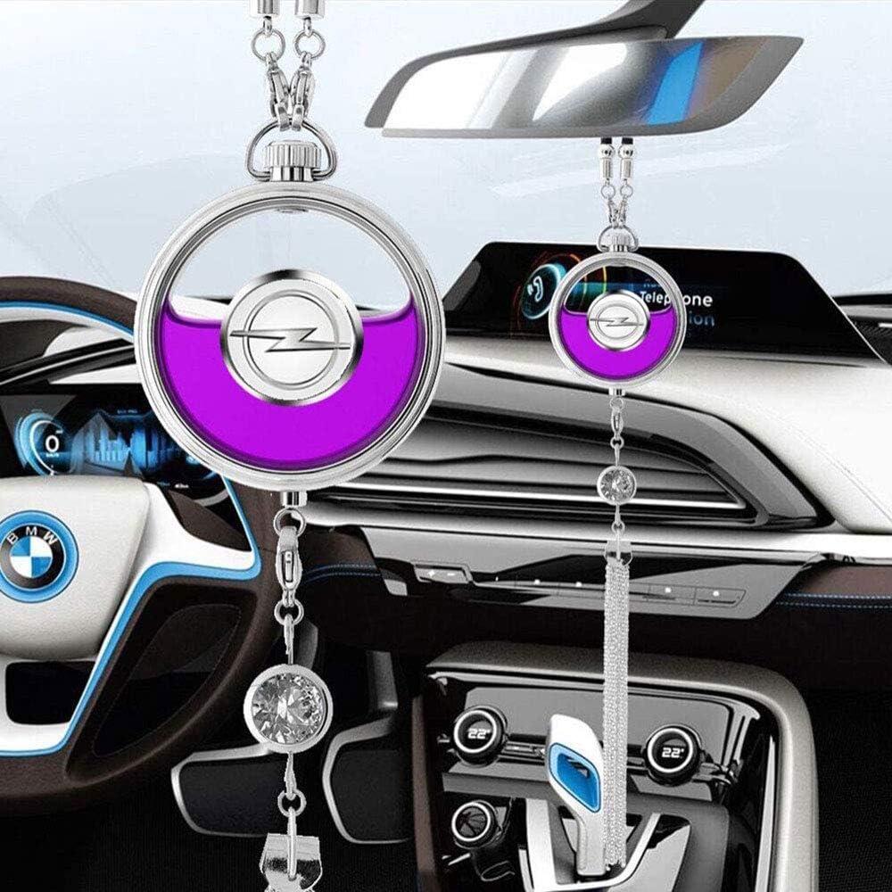 Fitracker Parfüm Lufterfrischer Mit Auto Logo Für Den Rückspiegel Parfüm Anhänger Mit Geschenkbox Auto
