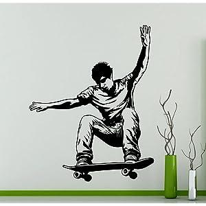 sports wall art digital downloads 8x8 print set skateboard art surf kid kids room art snowboard decor Set of 4 prints extreme sports