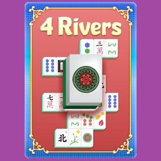 Mahjong 4 Rivers Solitaire HD Free