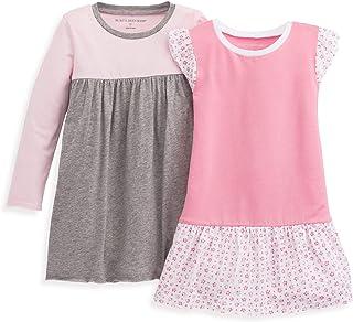 34fd945fc Burt's Bees Baby - Baby Girl's Dress, Infant & Toddler, Short & Long-