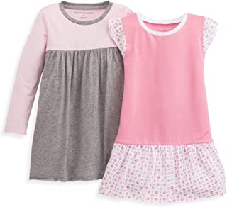 Baby Girl's Dress, Infant & Toddler, Short & Long-Sleeve, 100% Organic Cotton