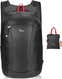 Voova Lightweight Packable Backpack Small Handy Travel Foldable Hiking DaypackClick to see price