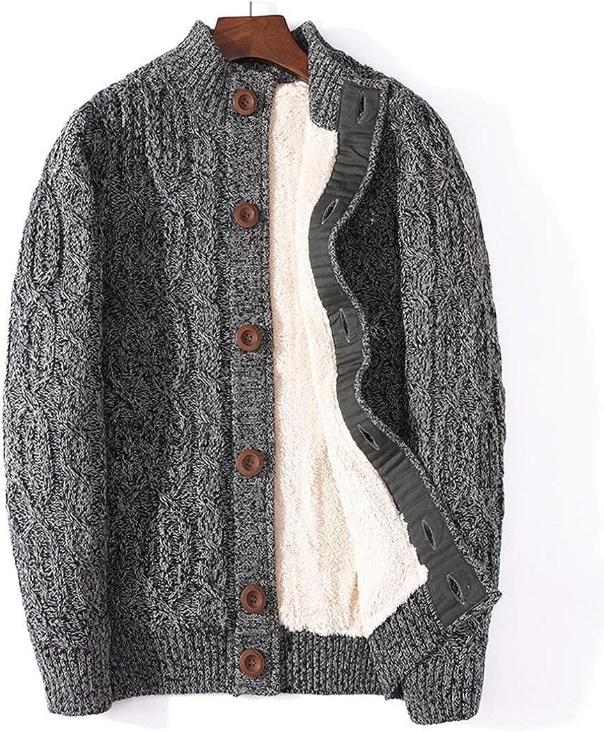 Winter Cardigan OFFer Bargain sale Thicken Warm Wool Cashmere Cl Sweater Men