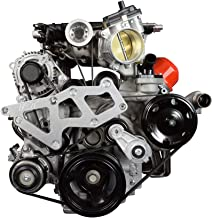 ICT Billet LT Gen V (5) L83 L86 Truck to LT4 Supercharger Idler Pulley Adapter Bracket SC 551790