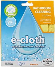 E-Cloth Bathroom Cleaning Cloth (Micro Fiber/Fibre Cloth) (Chemical-Free Cleaning with just water)