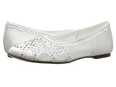 Badgley Mischka Kids Gigi Gems (Little Kid/Big Kid) (White) Girls Shoes