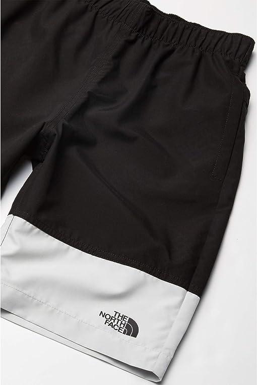 TNF Black Tossed Logo Mid Phantom Print