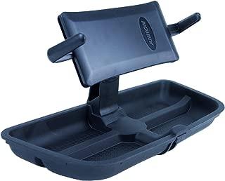 Daystar, Jeep JK Wrangler Upper Dash Panel with holder for Large I Phone and I Phone Plus; Mini Pad; Cradle; Black, fits 2011 to 2017 2/4WD, KJ71057BK and KJ71047BK