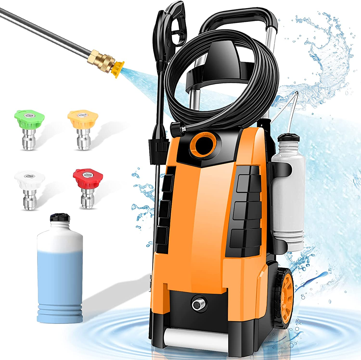 Challenge the lowest price of Japan TEANDE 3800PSI Electric Pressure High Washer W Regular discount