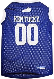 NCAA Kentucky Wildcats Mesh Dog Basketball Pet Jersey