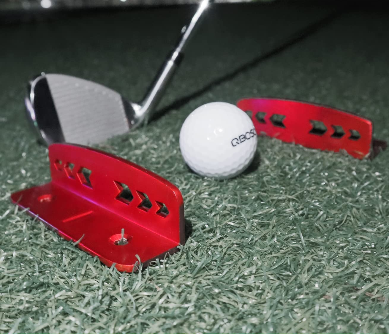 QBOSO Golf SEAL limited product Putt Trainer Max 70% OFF Putting Practice with Gate Travel Tool