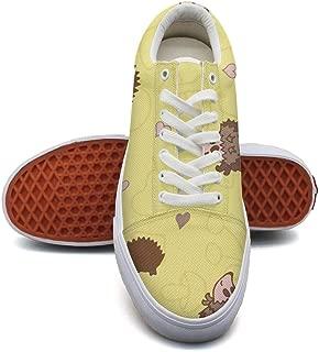 Ouxioaz Womens Skateboarding Shoes Canvas Cartoon Banana Sport Sneaker